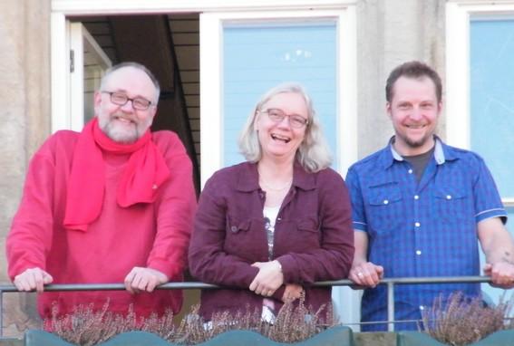 von links nach rechts: Gerd Detering, Diana Ammer, Stephan Schulte